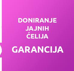 Program doniranja jajne ćelije garantuje